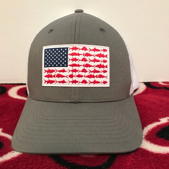 Columbia Other - American Flag PFG Hat a68e1ae907d